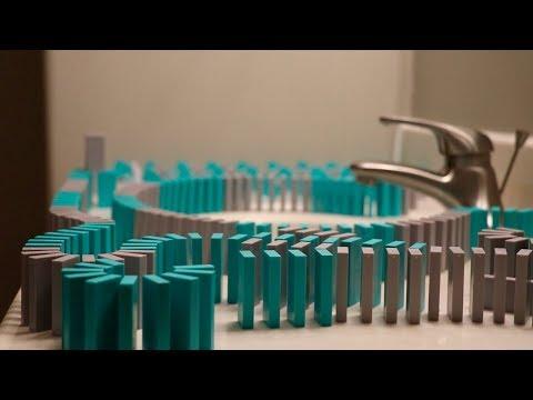 Dominoes Everywhere 3 - OVER 10,000 DOMINOES!