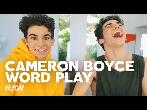 Cameron Boyce interviews Himself For RAW's Word Play PREVIEW