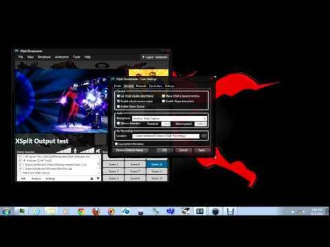 XSplit Tip: Video Output to External Display