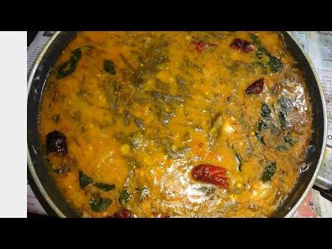 Sorrel Leaves Red Gram Dal Curry (పప్పు గోంగూర కూర)   Vegetable Recipe by Maa Vantagadi