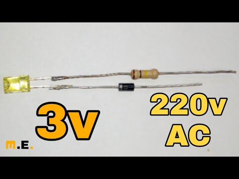 *how To Connect LED Light To 220v AC