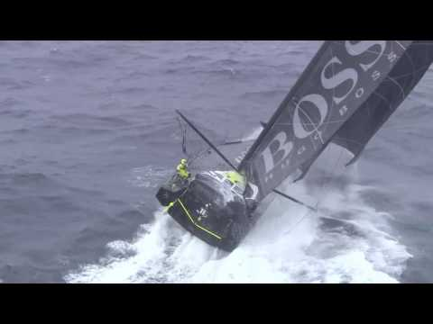 Vendée Globe Southern Ocean HUGO BOSS -* credit : Marine Nationale / TF1 / Nefertiti Prod