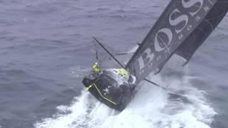 Vendée Globe Southern Ocean HUGO BOSS -* credit : Marine Nationale / TF1 / Nefertiti Prod