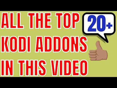 ALL BEST KODI ADDONS IN THIS VIDEO