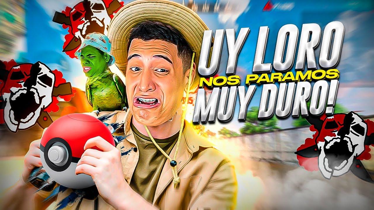 UYYYY LORO NOS PARAMOS MUYYY DUROO!!! 😂 FREE FIRE