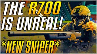 THE *NEW* BEST GUN IN WARZONE - The R700 Sniper Is ACTUALLY UNFAIR [SEASON 6]