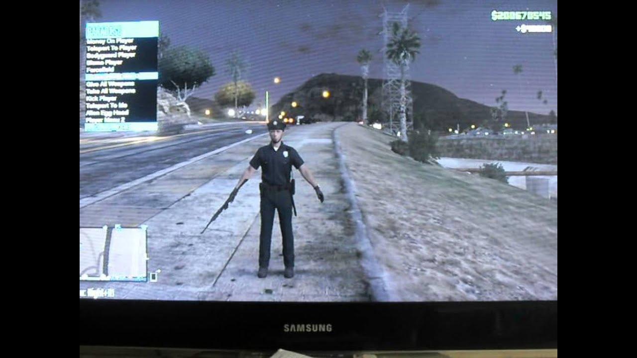 MOD MENU GTA 5 PS3 SANS JAILBREAK 1.27 GRATUITEMENT