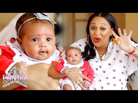 Tia Mowry reveals her baby girl for the first time!
