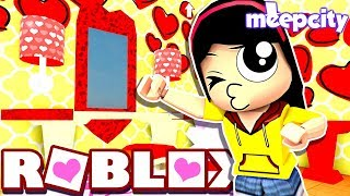 Decorating my VDay Room!! - Roblox MeepCity Valentine's Day Update - DOLLASTIC PLAYS!