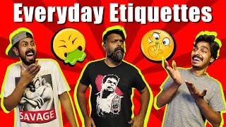 Everyday Etiquettes | Comedy Skit | Bekaar Films