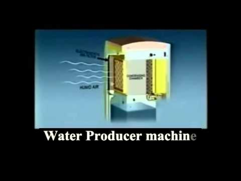 We converting air humidity directly into drinking water by sun energy and low price machine.