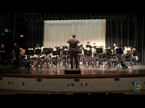 Rolesville Middle School 8th Grade Concert Band performs Española on 3/19/2019
