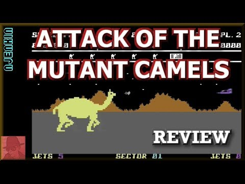 Attack of the Mutant Camels on the Commodore 64 !! with Commentary
