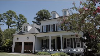 Incredible Inside-The-Beltline 3600 Rock Creek Dr Raleigh For Sale!