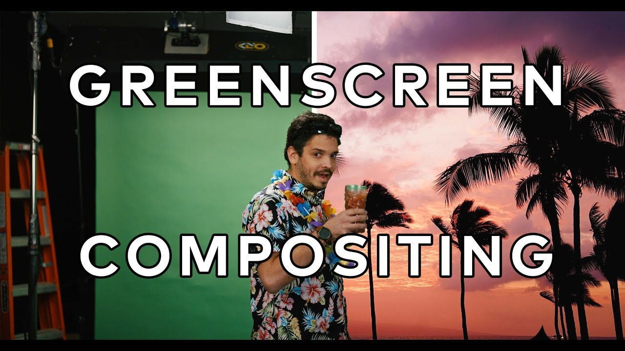 Green screen tutorial: How to make and use a green screen Easily