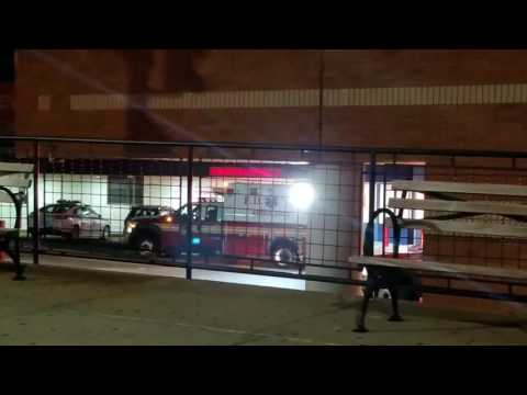 FDNY EMS Arriving At New York Presbyterian Hospital Emergency Room Bay In Queens, New York