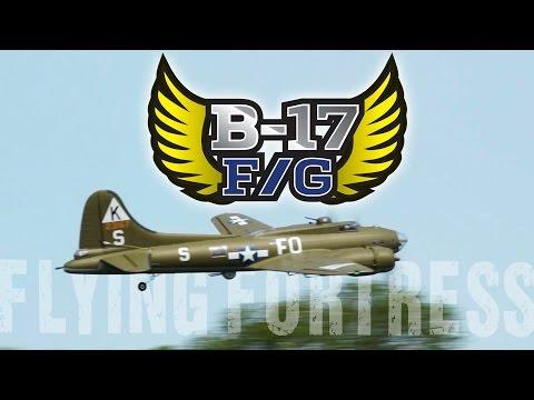 HobbyKing 1875mm B-17 F/G Flying Fortress - HobbyKing Product Video