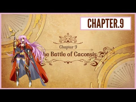 Langrisser M - Act.2: Story Mode - Chapter 9 - The Battle Of Caconsis |