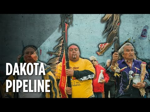The Fight To Stop North Dakota's Oil Pipeline