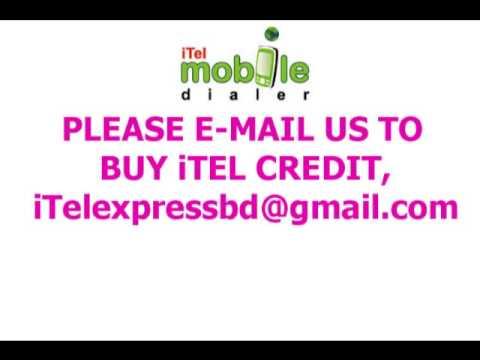 Buy iTel Mobile Dialer Credit in Bangladesh