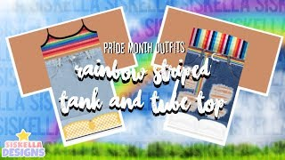 ROBLOX Speed Design: Pride Month Outfits   Siskella