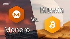 Monero vs Bitcoin (Monero explained)