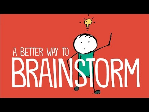 A Better Way to Brainstorm: How to Get Students to Generate Original Ideas