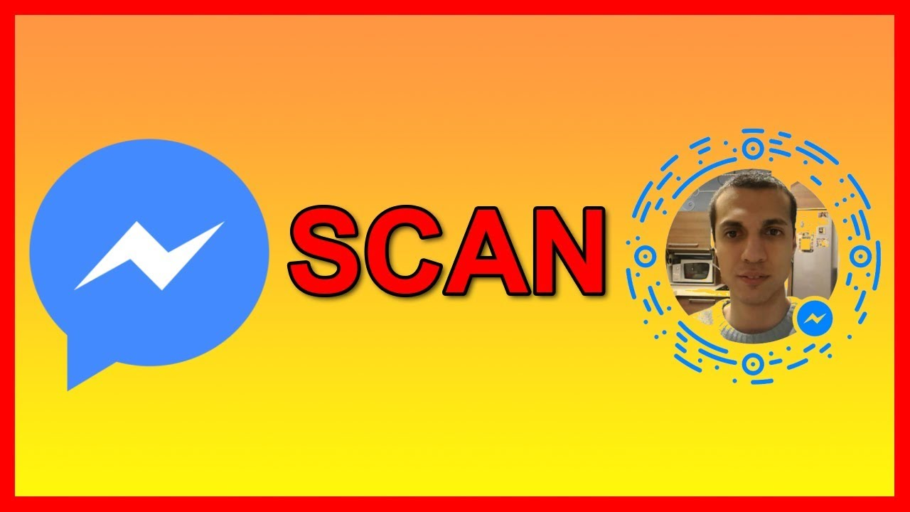 How to use / scan a Facebook Messenger profile code