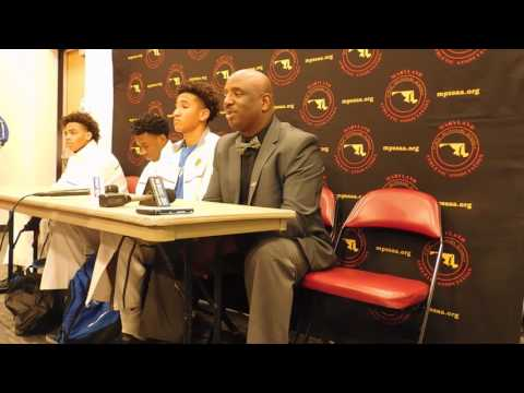 Stephen Decatur basketball press conference Class 3A state semifinals 03/09/17