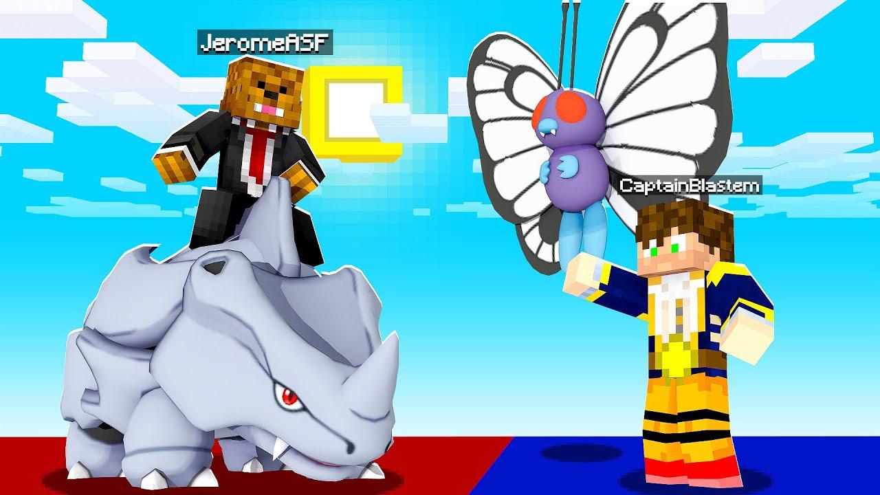 Minecraft OP Indigo Pixelmon - The Elite Four OVERPOWERED #8 | JeromeASF