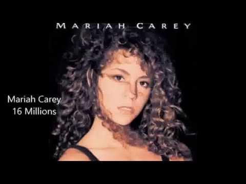 Mariah Carey Vs Whitney Houston album sales Battle