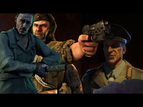 ALL 1.0 CHARACTER DEATHS! - Richtofen, Dempsey, Takeo, Nikolai (Black Ops 3 Zombies)