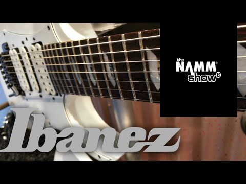 Ibanez Booth Namm 2015 Behind The Scenes