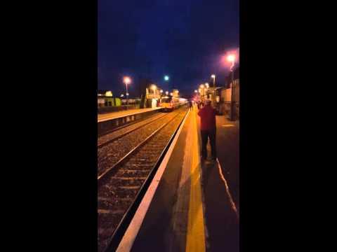 Steam Train Longford Station