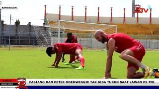 Video Fabiano dan Peter Odemwingie Tak Bisa Turun Saat Lawan PS TNI download MP3, 3GP, MP4, WEBM, AVI, FLV Oktober 2017