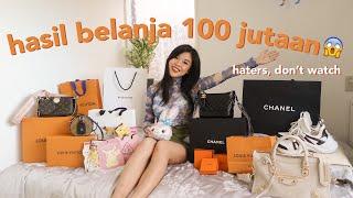 JAPAN SHOPPING HAUL! Luxury + Barang Lucu Drugstore & Disney | LV, Balenciaga, Chanel