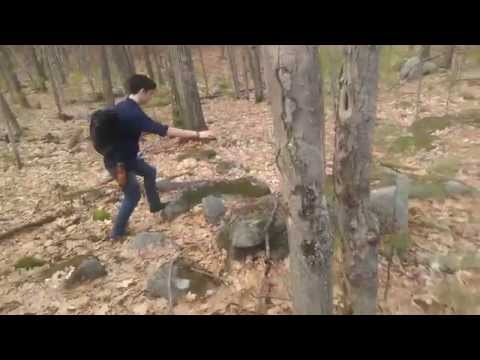 """Concord NH Quarries: Hike #1 """"Geo Catching?"""""""
