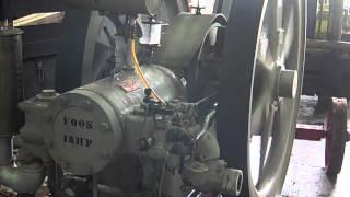 15 HP Foos wipe spark special electric hit miss gas engine