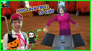 Halloween Đi Troll Cô Giáo TẬP 7 | 1000 Cách Troll Cô Giáo Của ThắnG Tê Tê | Scary Teacher 3D