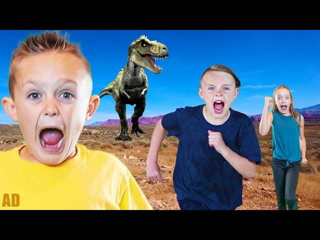 Jack's Secret Mission with Dinosaurs & the Heroes of Goo