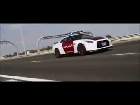 DONT MESS WITH A DUBAI NISSAN GT-R POLICE CAR - YouTube