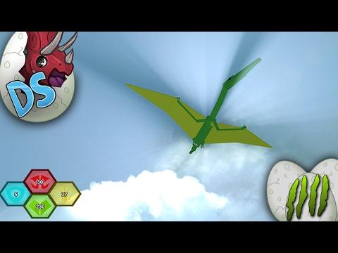 IMA FLYING DINOSAUR - Ep. 4: Dinosaur Simulator   Roblox