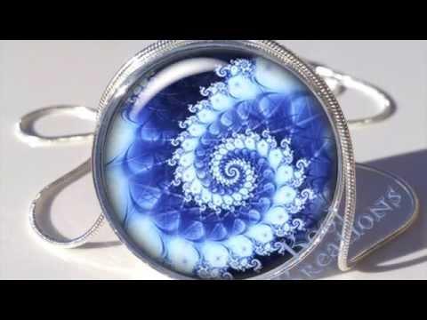 Resin Photo Pendants (Silver Bezel/Chain)