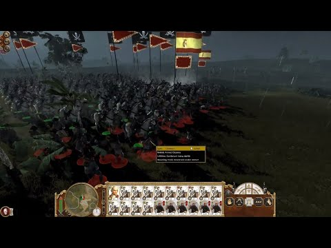 Empire: Total War - Pirate Raid on Spanish Colony (1080p | Full Battle)