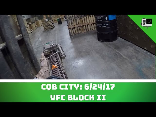 CQB City 6/24/17 (VFC Block II, WE Glock 19)