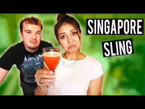 SINGAPORE SLING  |  GINUARY - #ThirstyThursday