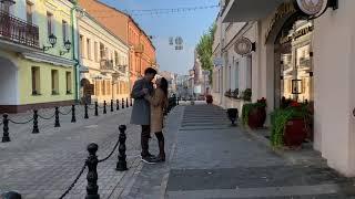 Прогулка по осеннему городу. Золотая  пора в Минске. Снимаем фото и видео.