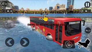 Sea Bus Driving  Tourist Coach Bus Duty Driver -Android Gameplay