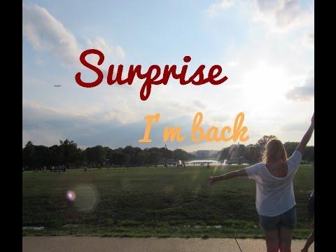 Au Pair Diary USA #41 Surprise-I'm back!