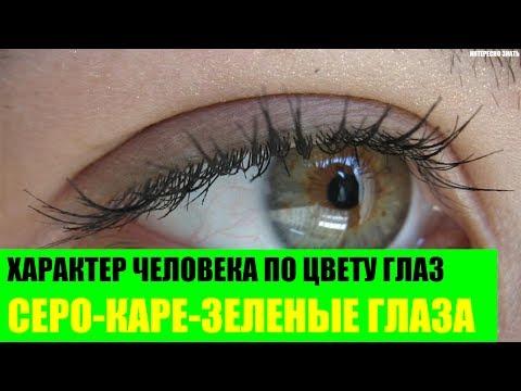 Характер человека с серо-каре-зелеными глазами